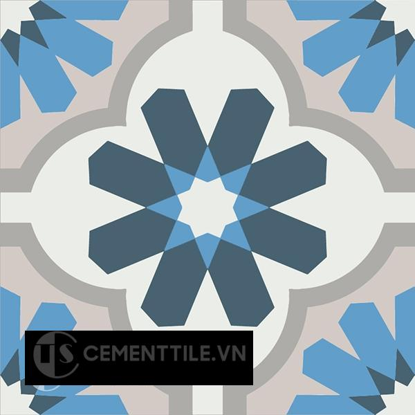 Gạch bông CTS 16.4(1-4-8-9-50) - Encaustic cement tile CTS 16.4(1-4-8-9-50)
