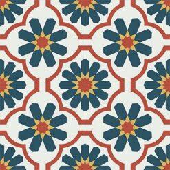 Gạch bông CTS 16.5(4-5-6-21)-4 viên - Encaustic cement tile CTS 16.5(4-5-6-21)-4 tiles