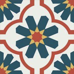 Gạch bông CTS 16.5(4-5-6-21) - Encaustic cement tile CTS 16.5(4-5-6-21)