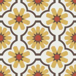 Gạch bông CTS 16.6(4-5-6-14)-4 viên - Encaustic cement tile CTS 16.6(4-5-6-14)-4 tiles