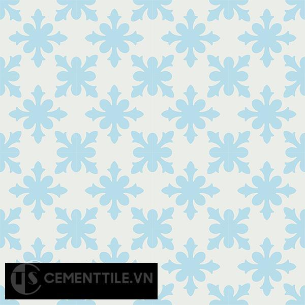 Gạch bông CTS 17.1(2-4) - 16 viên - Encaustic cement tile CTS 17.1(2-4)-16 tiles