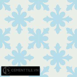 Gạch bông CTS 17.1(2-4) - 4 viên - Encaustic cement tile CTS 17.1(2-4)-4 tiles