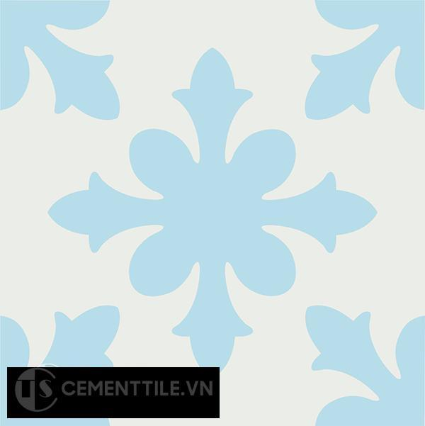 Gạch bông CTS 17.1(2-4) - Encaustic cement tile CTS 17.1(2-4)
