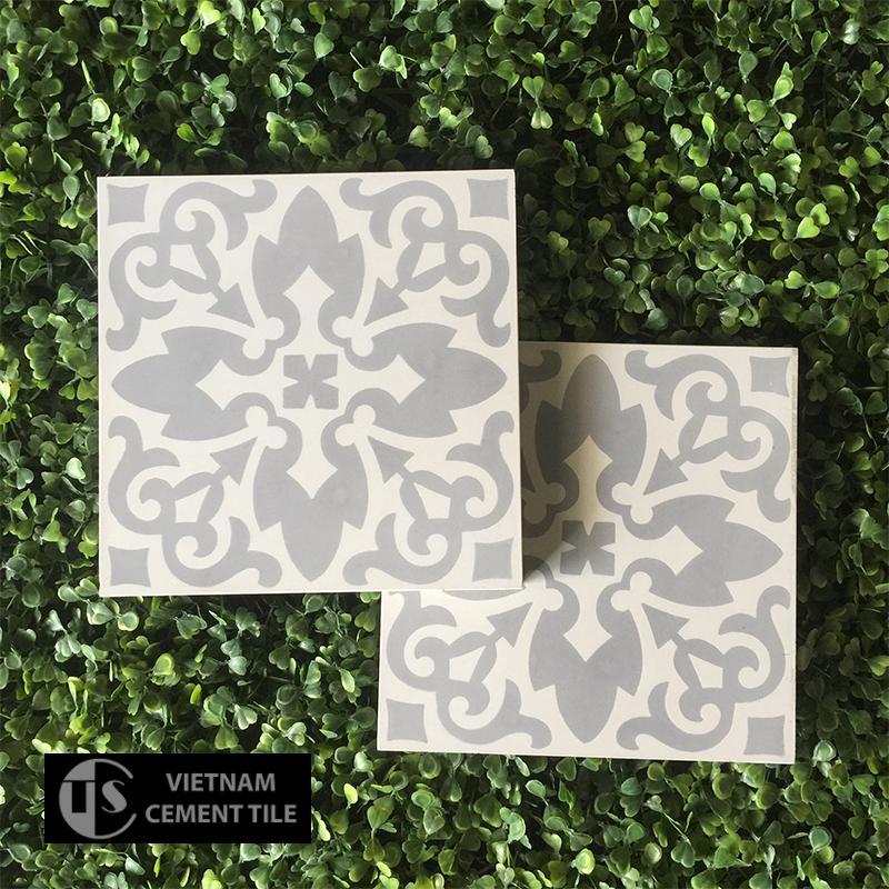 Gạch bông CTS 18.1(4-9) - Encaustic cement tile CTS 18.1(4-9)