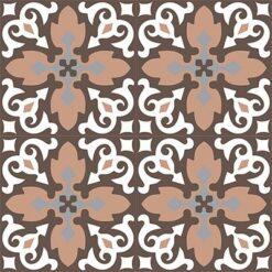 Gạch bông CTS 18.2(4-9-14-38)-4 viên - Encaustic cement tile CTS 18.2(4-9-14-38)-4 tiles