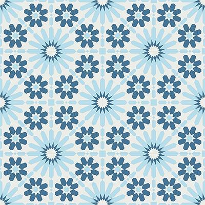 Gạch bông CTS 19.1(1-2-4)-16 viên - Encaustic cement tile CTS 19.1(1-2-4)-16 tiles