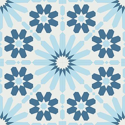 Gạch bông CTS 19.1(1-2-4)-4 viên - Encaustic cement tile CTS 19.1(1-2-4)-4 tiles