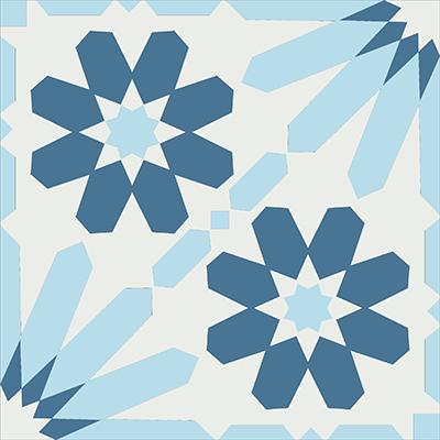 Gạch bông CTS 19.1(1-2-4) - Encaustic cement tile CTS 19.1(1-2-4)