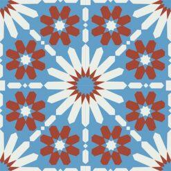 Gạch bông CTS 19.2(4-8-30)-4 viên - Encaustic cement tile CTS 19.2(4-8-30)-4 tiles
