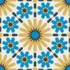Gạch bông CTS 19.7(4-6-8-13)-4 viên - Encaustic cement tile CTS 19.7(4-6-8-13)-4 tiles