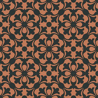 Gạch bông CTS 20.1(13-37)-16 viên - Encaustic cement tile CTS 20.1(13-37)-16 tiles