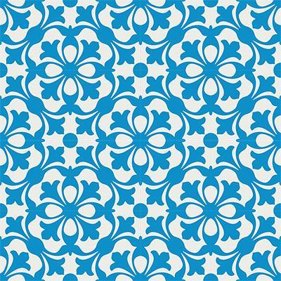 Gạch bông CTS 20.3(4-8)-16 viên - Encaustic cement tile CTS 20.3(4-8)-16 tiles