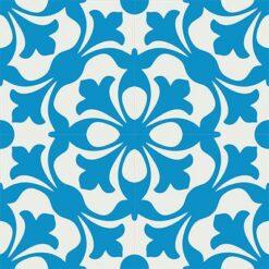 Gạch bông CTS 20.3(4-8)-4 viên - Encaustic cement tile CTS 20.3(4-8)-4 tiles