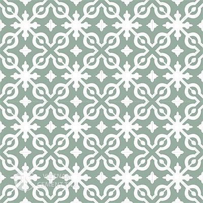 Gạch bông CTS 22.1(4-26)-16 viên - Encaustic cement tile CTS 22.1(4-26)-16 tiles