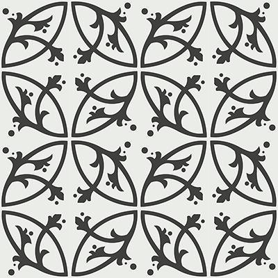 Gạch bông CTS 24.2(4-13) - 16 viên - Encaustic cement tile CTS 24.2(4-13)-16 tiles