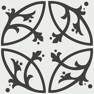 Gạch bông CTS 24.2(4-13) - 4 viên - Encaustic cement tile CTS 24.2(4-13)-4 tiles