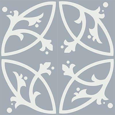 Gạch bông CTS 24.4(4-50) - 4 viên - Encaustic cement tile CTS 24.4(4-50)-4 tiles