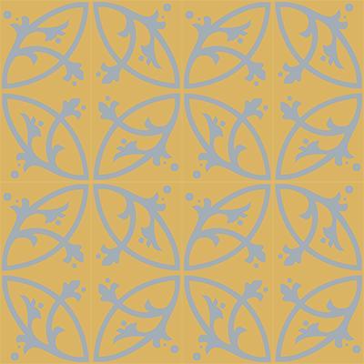 Gạch bông CTS 24.5(6-50) - 16 viên - Encaustic cement tile CTS 24.5(6-50)-16 tiles