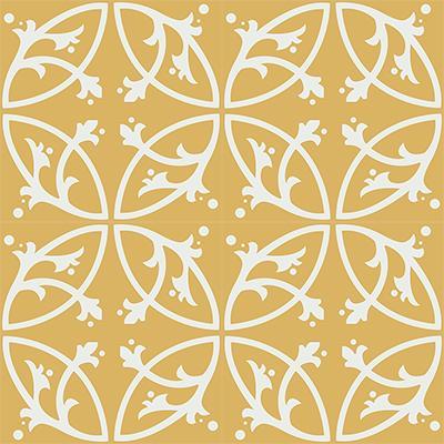 Gạch bông CTS 24.6(4-6) - 16 viên - Encaustic cement tile CTS 24.6(4-6)-16 tiles