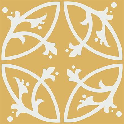 Gạch bông CTS 24.6(4-6) - 4 viên - Encaustic cement tile CTS 24.6(4-6)-4 tiles
