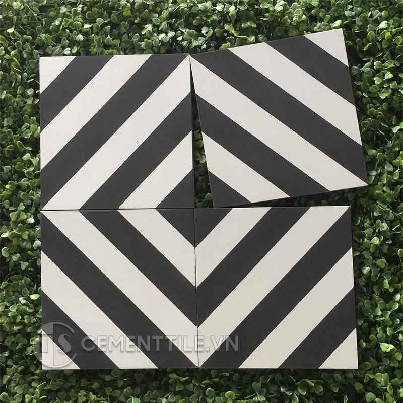 Gạch bông CTS 25.1(4-13) - Encaustic cement tile CTS 25.1(4-13)