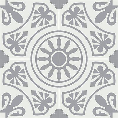 Gạch bông CTS 26.1(4-9)-4 viên - Encaustic cement tile CTS 26.1(4-9)-4 tiles