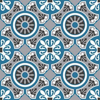 Gạch bông CTS 26.3(4-9-10-13)-16 viên - Encaustic cement tile CTS 26.3(4-9-10-13)-16 tiles