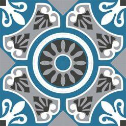 Gạch bông CTS 26.3(4-9-10-13)-4 viên - Encaustic cement tile CTS 26.3(4-9-10-13)-4 tiles
