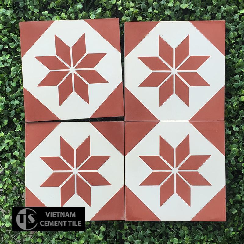 Gạch bông CTS 24.1(4-5) - Encaustic cement tile CTS 24.1(4-5)