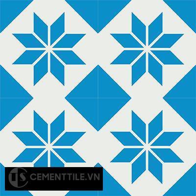 Gạch bông CTS 27.2(4-8) - 4 viên - Encaustic cement tile CTS 27.2(4-8)-4 tiles