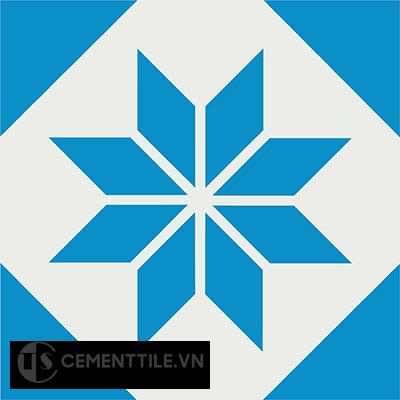 Gạch bông CTS 27.2(4-8) - Encaustic cement tile CTS 27.2(4-8)