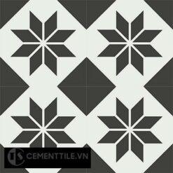 Gạch bông CTS 27.3(4-13) - 4 viên - Encaustic cement tile CTS 27.3(4-13)-4 tiles