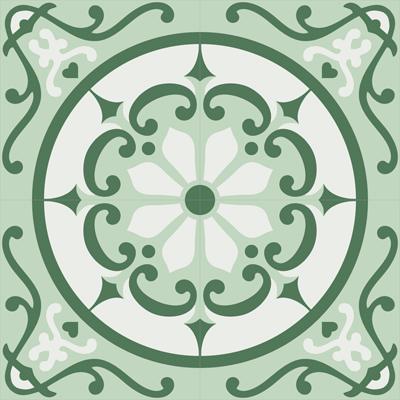 Gạch bông CTS 28.1(4-118-140) 4 viên - Cement tile CTS 28.1(4-118-140) 4 tiles
