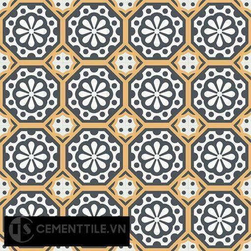 Gạch bông CTS 29.1(4-6-32) - 16 viên - Encaustic cement tile CTS 29.1(4-6-32)-16 tiles