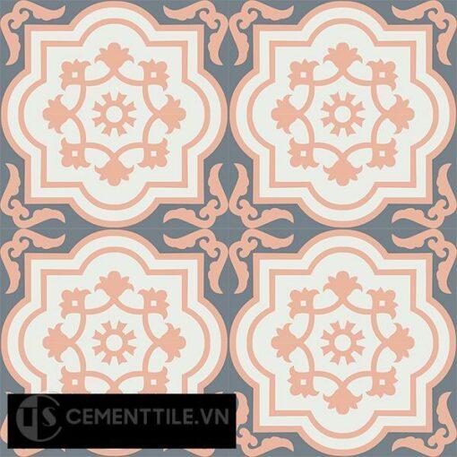 Gạch bông CTS 30.1(4-33-38) - 16 viên - Encaustic cement tile CTS 30.1(4-33-38)-16 tiles