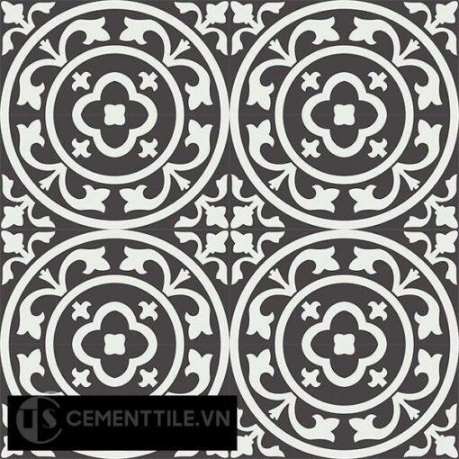 Gạch bông CTS 31.1(4-13) - 16 viên - Encaustic cement tile CTS 31.1(4-13)-16 tiles
