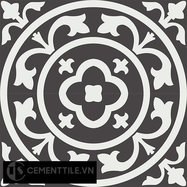 Gạch bông CTS 31.1(4-13) - 4 viên - Encaustic cement tile CTS 31.1(4-13)-4 tiles