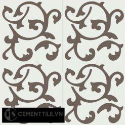 Gạch bông CTS 32.2(4-28) - 4 viên - Encaustic cement tile CTS 32.2(4-28)-4 tiles