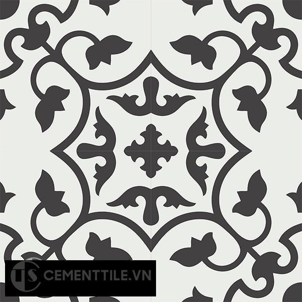 Gạch bông CTS 35.2(4-13) - 4 viên - Encaustic cement tile CTS 35.2(4-13)-4 tiles