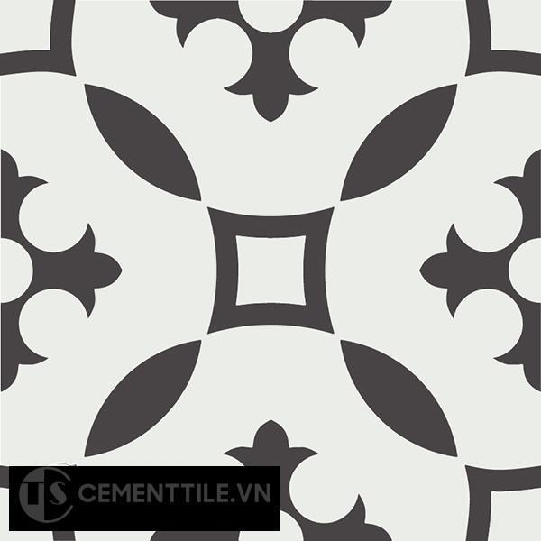 Gạch bông CTS 36.1(4-13) - Encaustic cement tile CTS 36.1(4-13)
