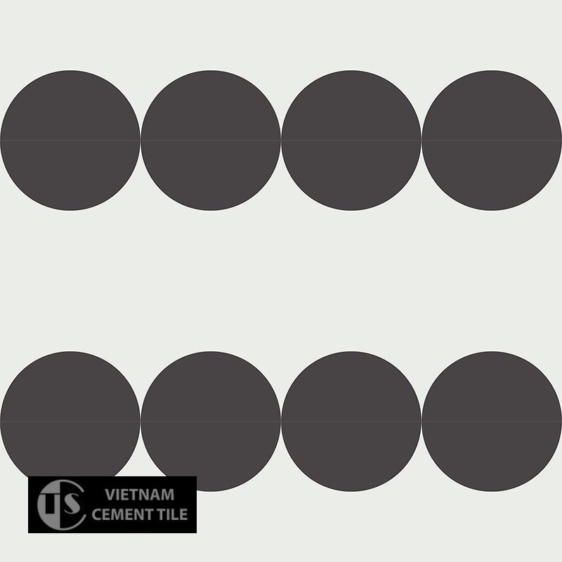 Gạch bông CTS 37.1(4-13) - 16 viên - Encaustic cement tile CTS 37.1(4-13) - 16 tiles