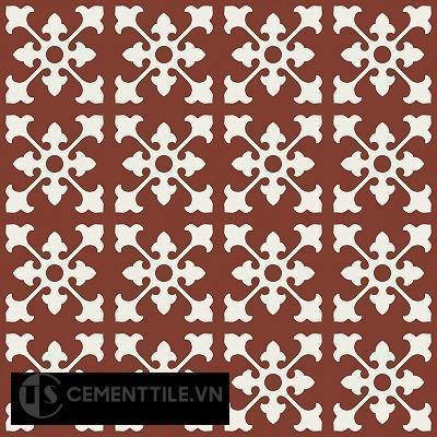 Gạch bông cổ điển CTS 39.1 - 16 viên ( Encaustic cement tile 39.1 - 16 tiles )