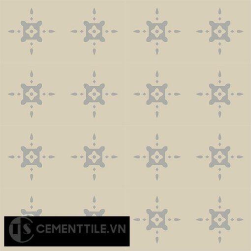Gạch bông CTS 40.1(9-12) - 16 viên - Encaustic cement tile CTS 40.1(9-12)-16 tiles