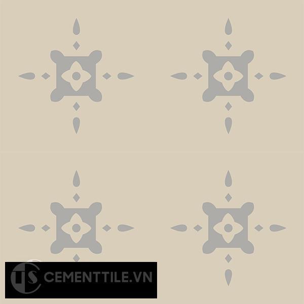 Gạch bông CTS 40.1(9-12) - 4 viên - Encaustic cement tile CTS 40.1(9-12)-4 tiles