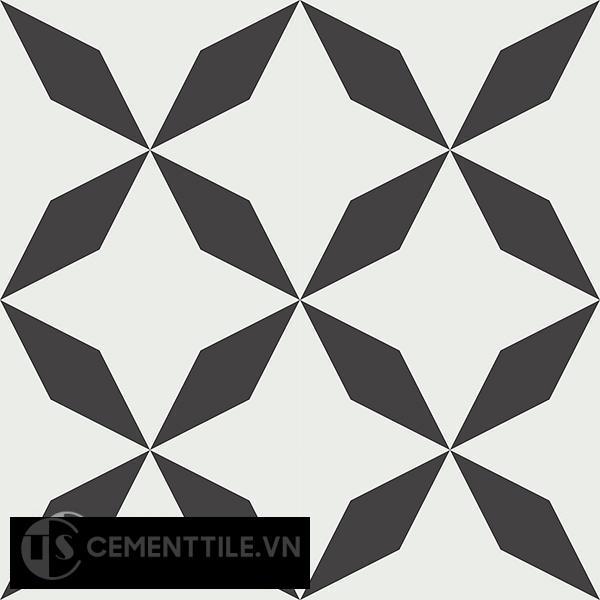 Gạch bông CTS 41.1(4-13) - 16 viên - Encaustic cement tile CTS 41.1(4-13)-16 tiles