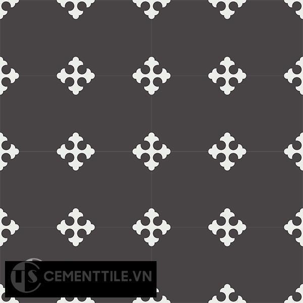 Gạch bông CTS 44.3(4-13) - 16 viên - Encaustic cement tile CTS 44.3(4-13)-16 tiles