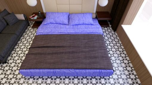 Gạch bông cts 46.1 lát nền phòng ngủ