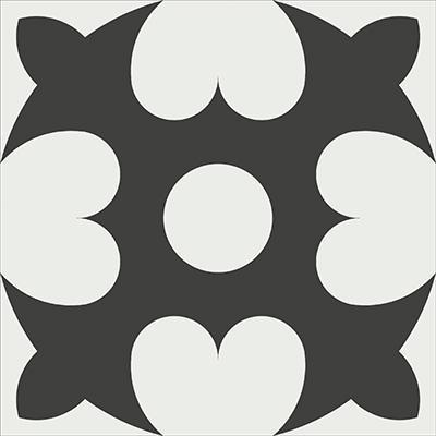 Gạch bông CTS 46.1(4-13) - Encaustic cement tile CTS 46.1(4-13)