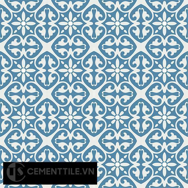 Gạch bông CTS 47.1(4-10) - 16 viên - Encaustic cement tile CTS 47.1(4-10)-16 tiles