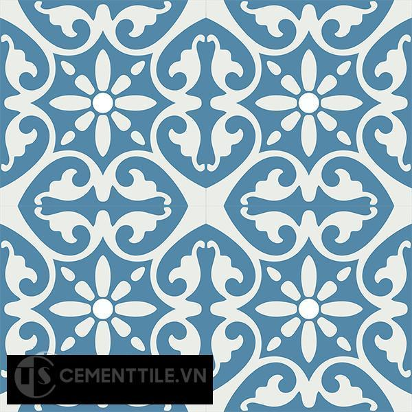 Gạch bông CTS 47.1(4-10) - 4 viên - Encaustic cement tile CTS 47.1(4-10)-4 tiles